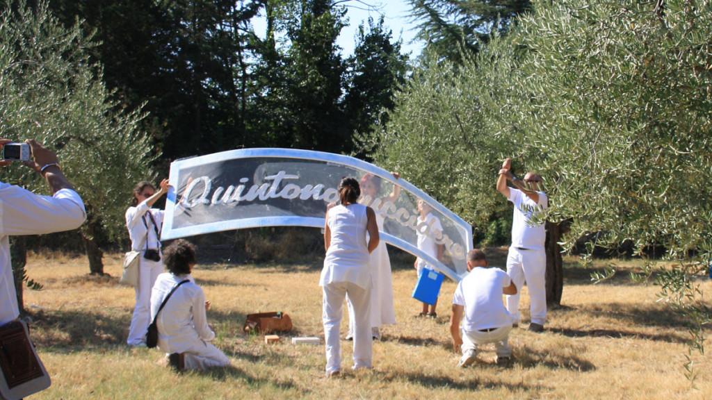 quintononuccidere - performance di Walter Zuccarini e la Casa per le Arti