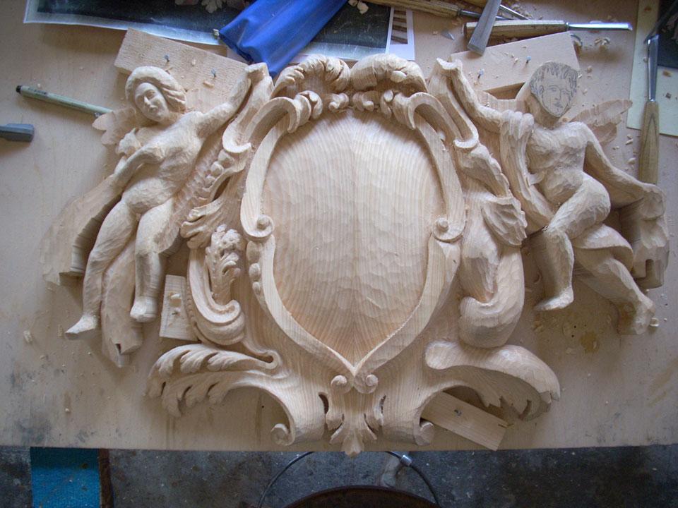 23 Corso di intaglio del legno legno intaglio