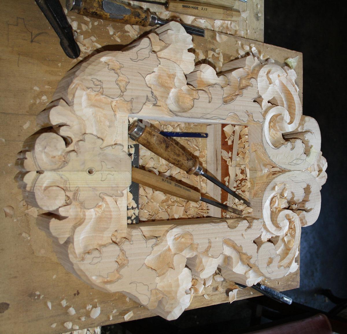 42 Corso di intaglio del legno legno intaglio