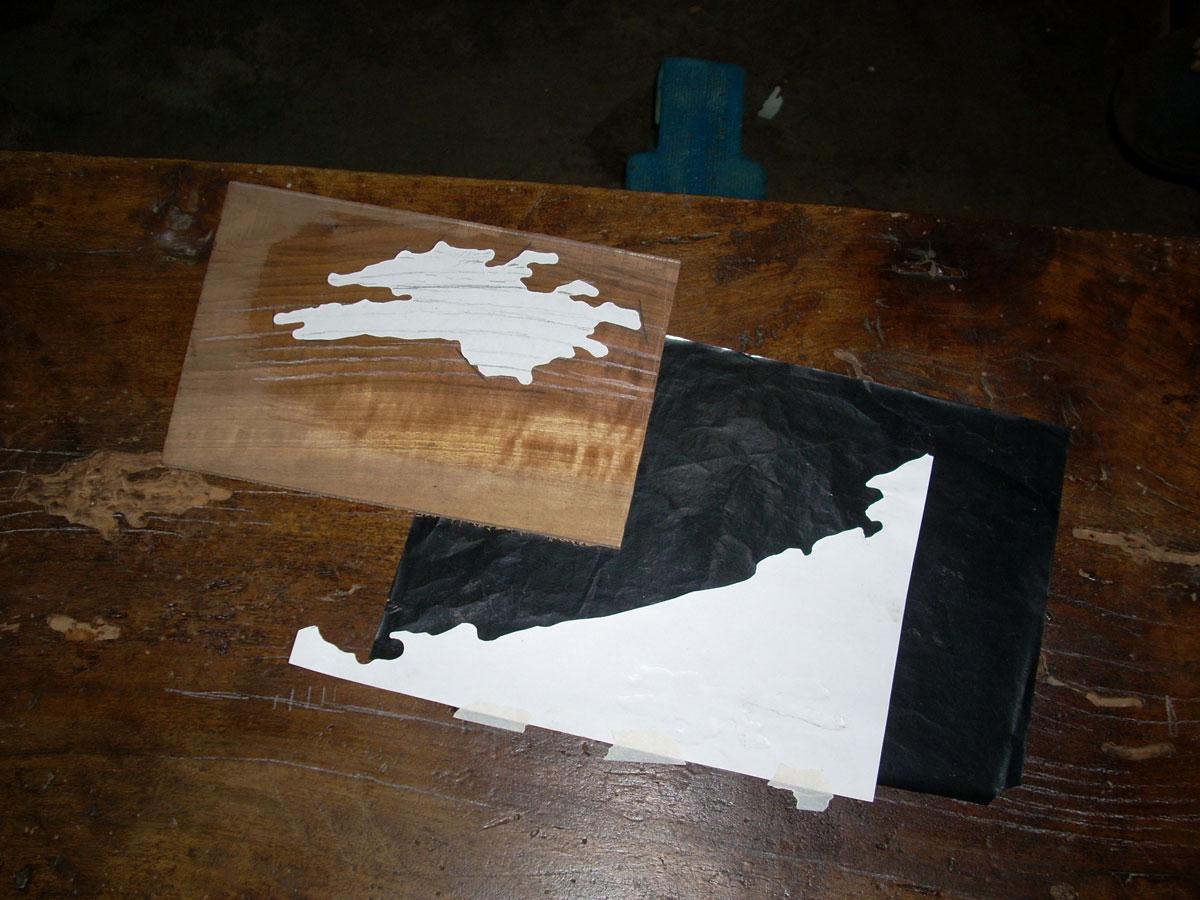 studio delle venature per cernita del legno per integrazioni Corso di restauro restauro