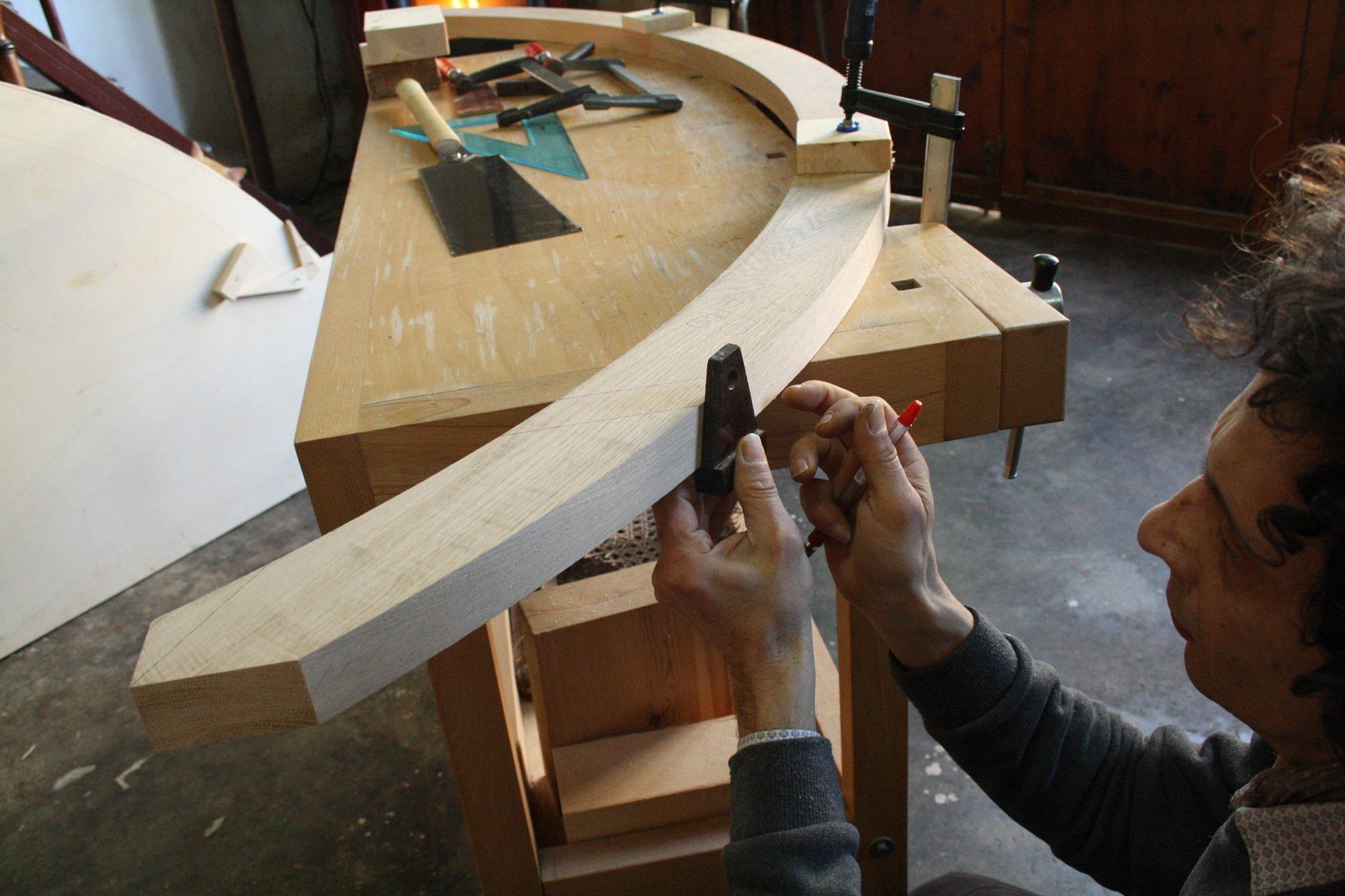 walter zuccarini laboratorio scultura arcobaleno 1 dalla forma dellAnima Arcobaleni modulo misura aurea