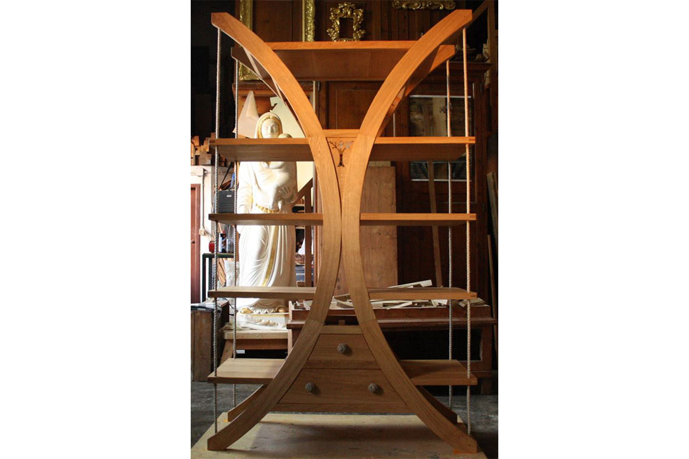 dalla forma dell'Anima Arcobaleni - scultura di walter zuccarini