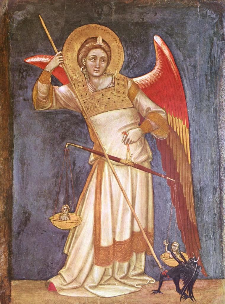 Guariento - Arcangelo Michele
