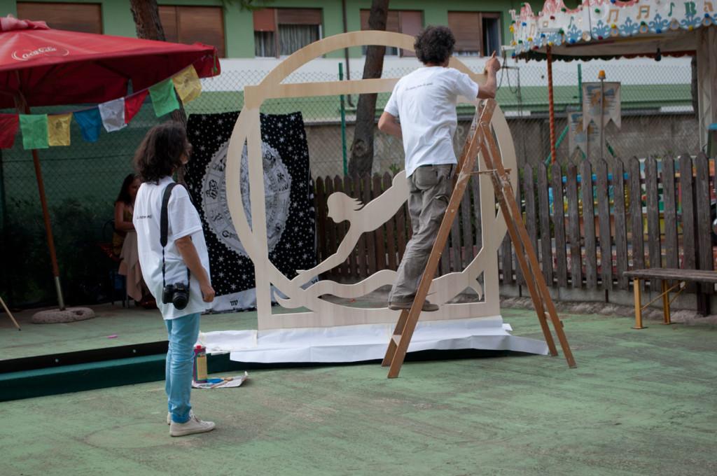 Trittico dell'Anima - Walter Zuccarini in collaborazione con la Casa per le Arti - work in progress