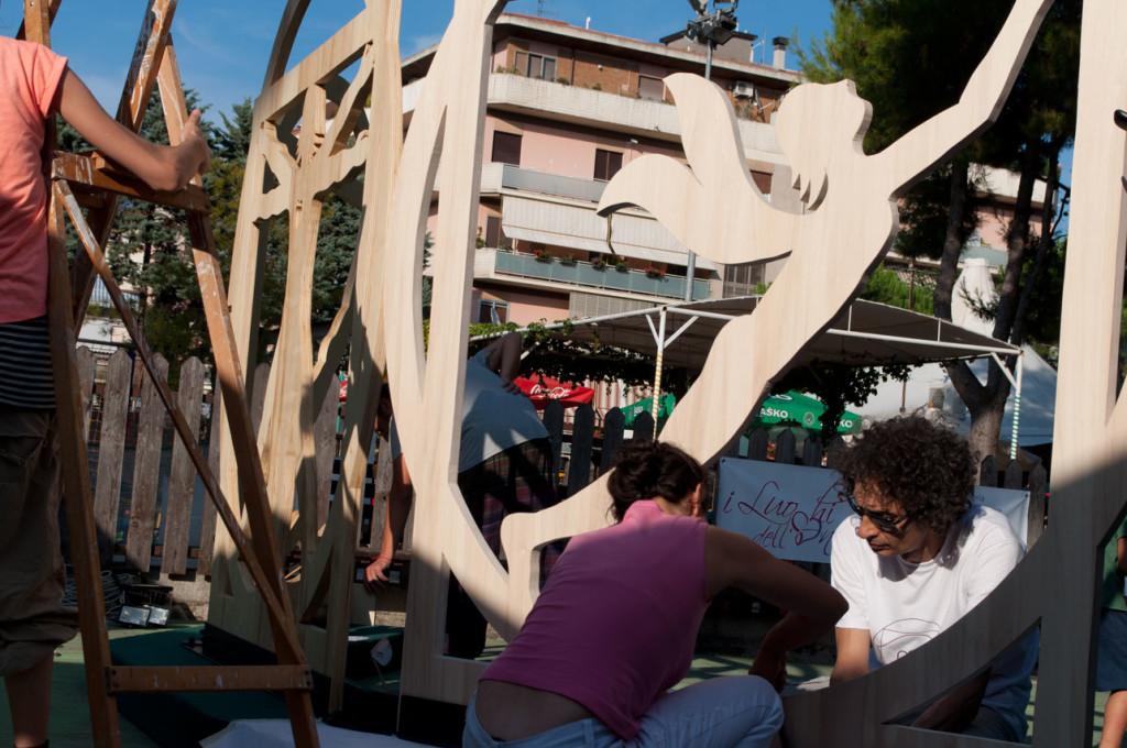 trittico_anima_walter_zuccarini-installazione_legno-laboratorio-arti-applicate