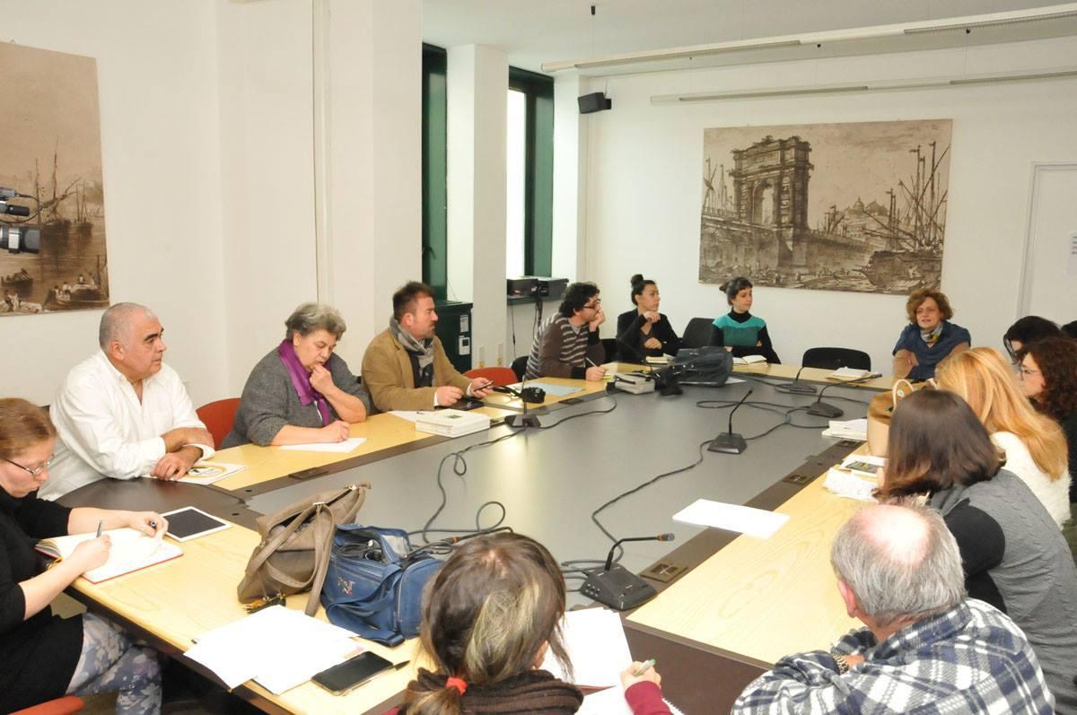 esprimarte conferenza stampa Nelle Marche. Nasce Esprimarte scultura residenze creative
