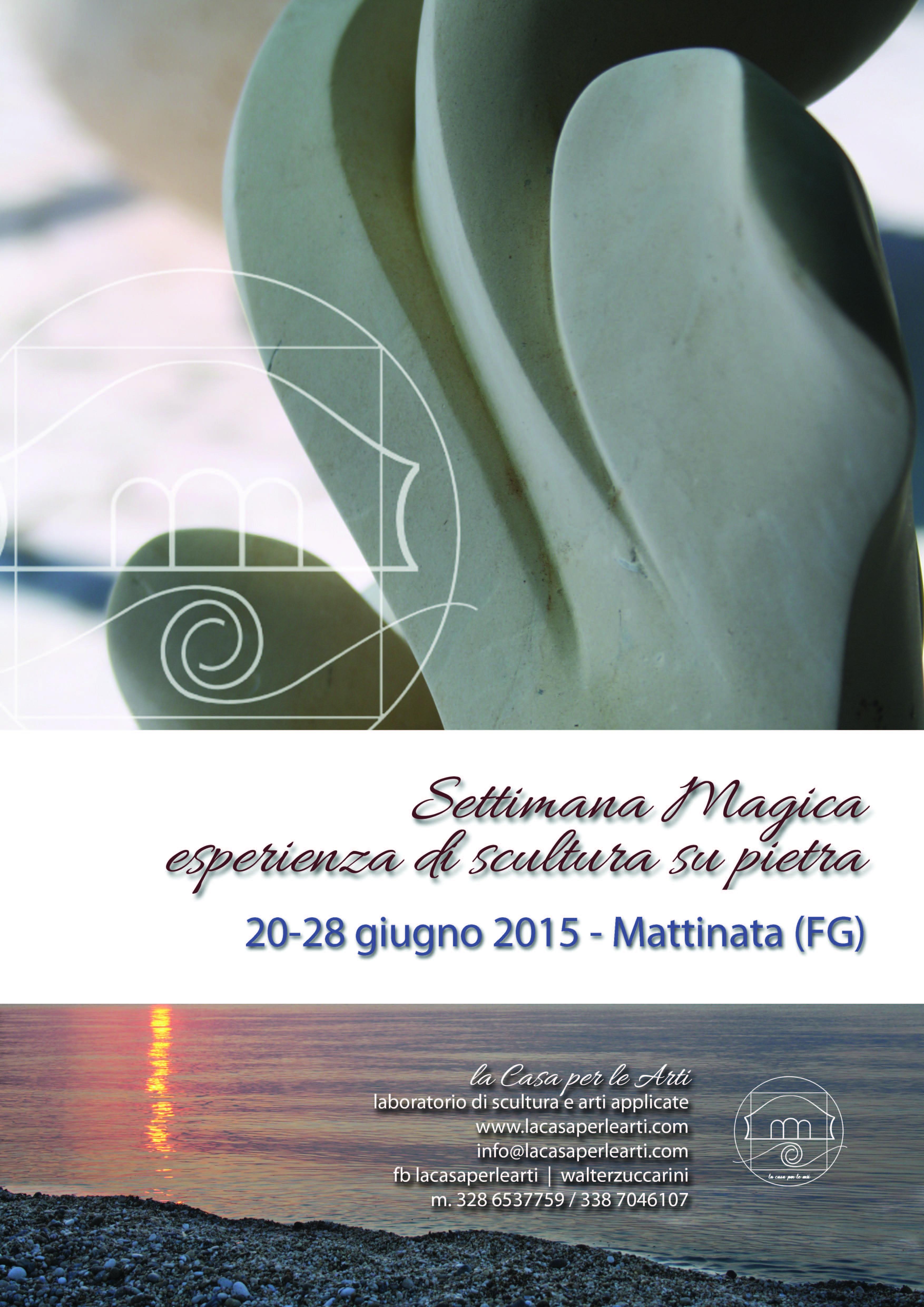 corso scultura mattinata 2015 Settimana magica esperienza di scultura su pietra (20 28 giugno 2015   Mattinata) workshop di scultura corso scultura corso di scultura
