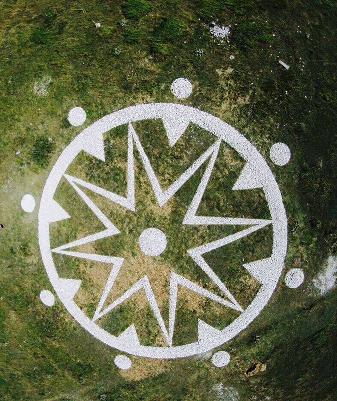 land art majella abruzzo terra madre Comuni e Land Art