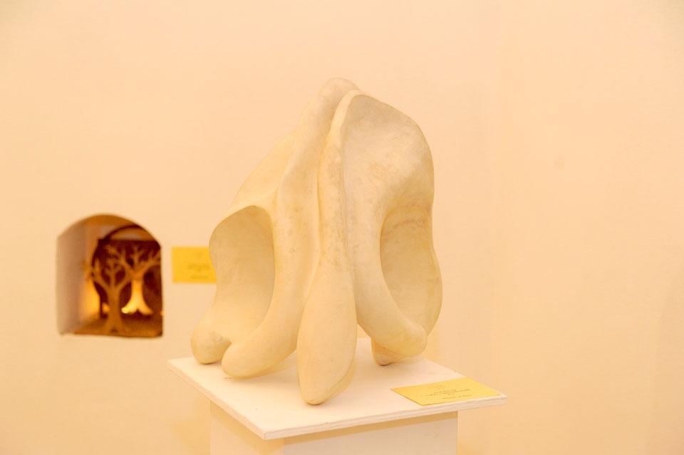 infinito presente mostra zuccarini10 Immagini e ricordi della mostra Infinito Presente (31 maggio   7 giugno 2015)   Chieti workshop di scultura walter zuccarini teatro simurgh stefania barbetta scultura ottagono mostra artigianato artistico artigianato