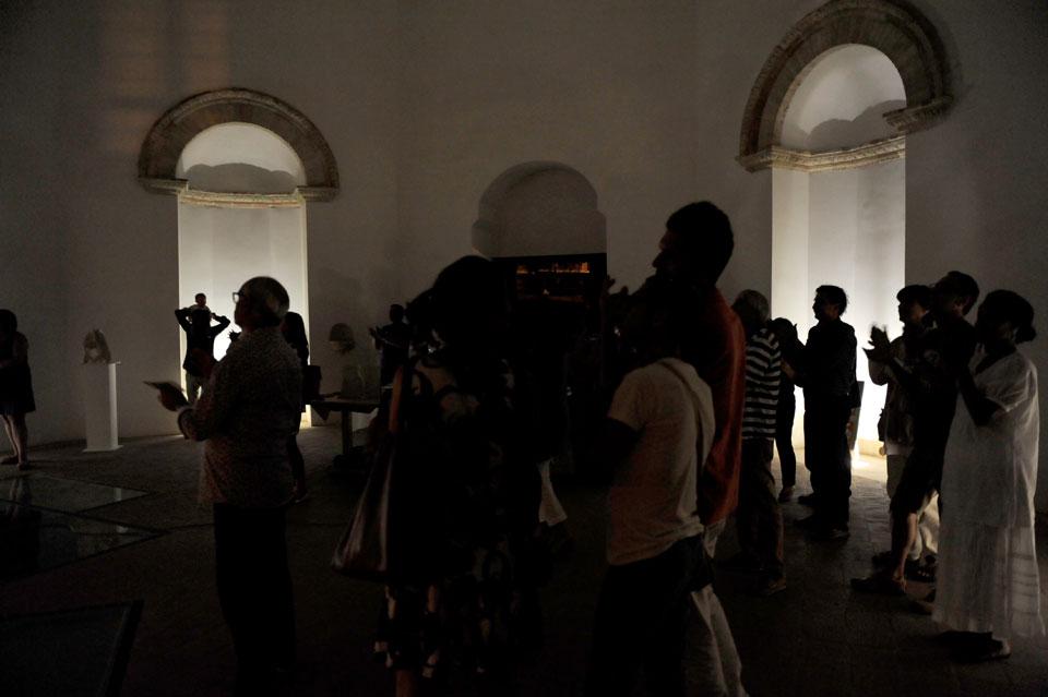 infinito presente mostra zuccarini4 Immagini e ricordi della mostra Infinito Presente (31 maggio   7 giugno 2015)   Chieti workshop di scultura walter zuccarini teatro simurgh stefania barbetta scultura ottagono mostra artigianato artistico artigianato