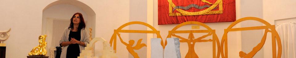 la casa per le arti - infinito presente - mostra di walter zuccarini e i suoi allievi