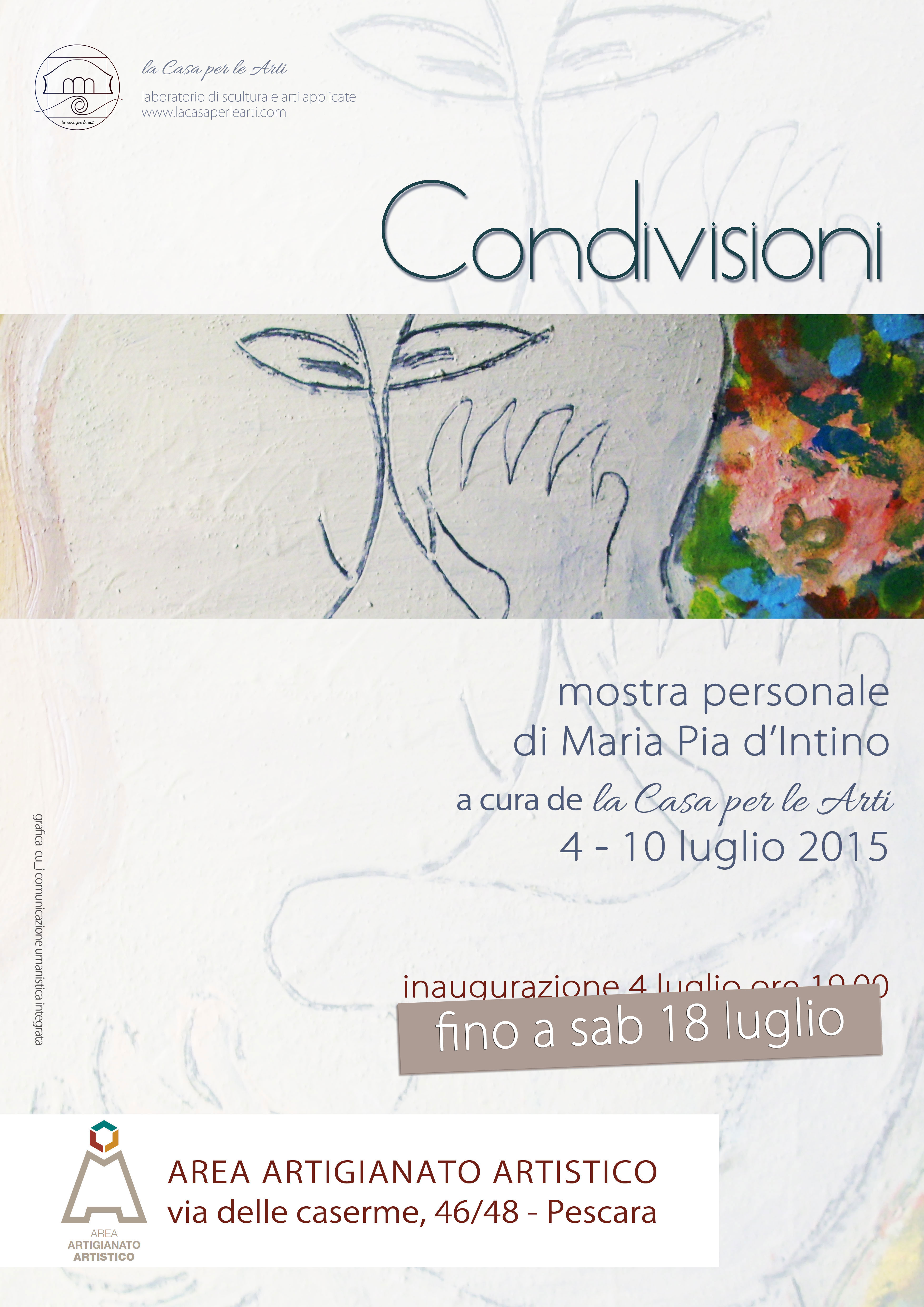 mariapia d intino2 Condivisioni   mostra personale di Maria Pia d'Intino a cura de la Casa per le Arti 4   18 luglio 2015 pittur mostra pittura maria pia dintino
