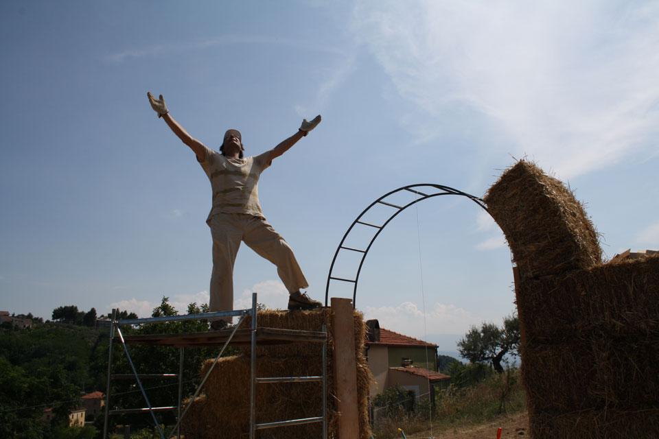 14 La Porta di Giano walter zuccarini land art la porta di giano giano furlo