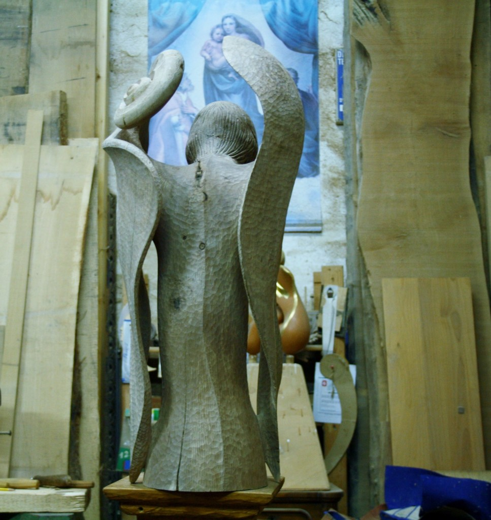 kairos 2 bozzetto in legno