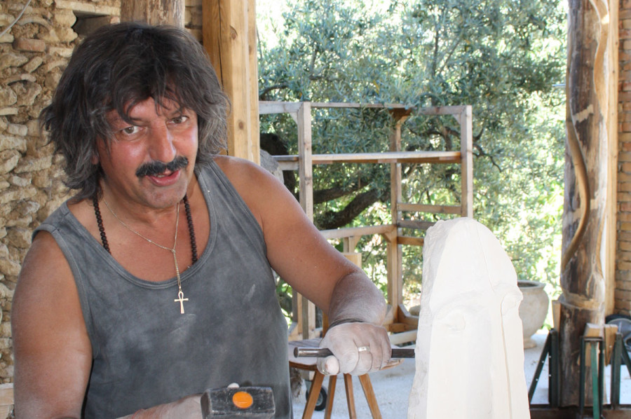 1. IMG 6656 900x598 SETTIMANA MAGICA   laboratorio di scultura manuale su pietra (10 17 giugno) settimana magica scultura walter zuccarini scultura su pietra corso scultura