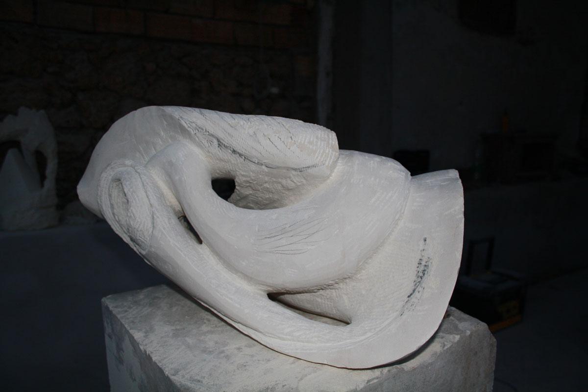 4. IMG 6710 1 SETTIMANA MAGICA   laboratorio di scultura manuale su pietra (10 17 giugno) settimana magica scultura walter zuccarini scultura su pietra corso scultura