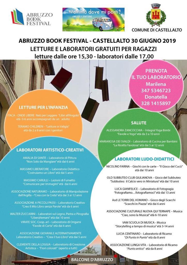 Laboratori di scultura Legno   Pietra   Pirografia ad Abruzzo Book Festival a Castellalto | 30 giugno 2019 walter zuccarini Abruzzo book Festival
