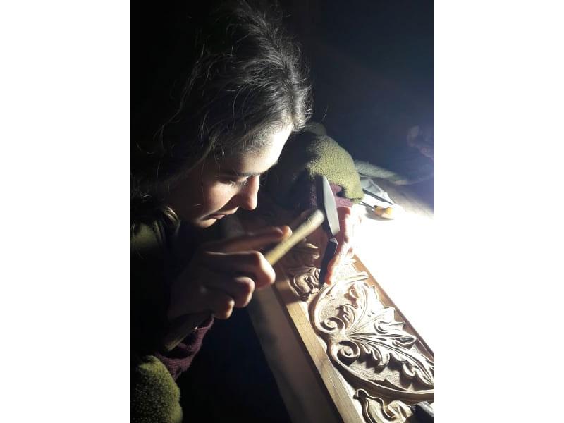 casa per le arti chieti walter zuccarini scultura Il filo che canta walter zuccarini silenzio saggezza progetto artistico percezione del tempo luce laboratorio la casa per le arti idee forza forma filo conduttore fiducia cura atto di forza amore