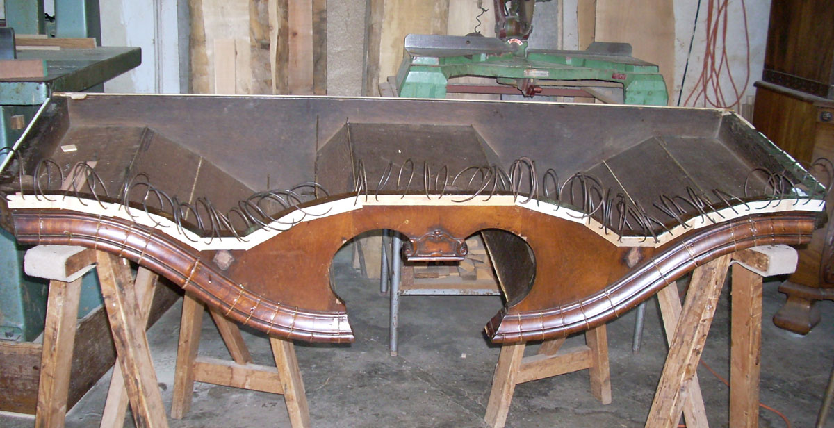 riadesione impiallacciatura Corso di restauro restauro