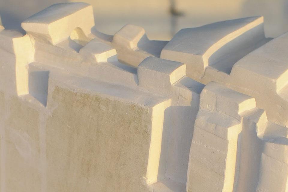 7 Corso di scultura su pietra   Mattinata (FG) 2014   Riflessioni scultura pietra mare corso di scultura anima