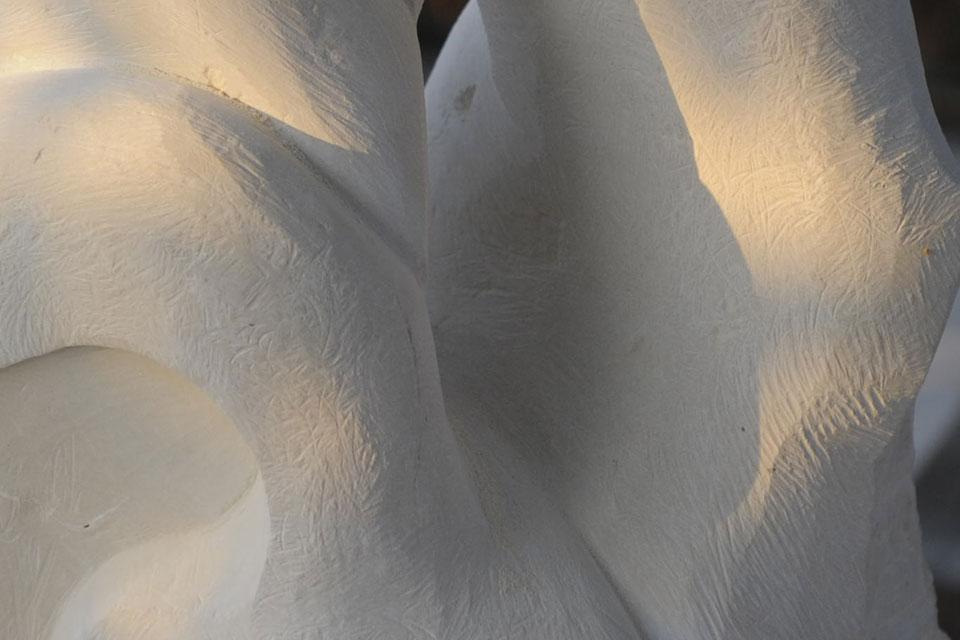 8 Corso di scultura su pietra   Mattinata (FG) 2014   Riflessioni scultura pietra mare corso di scultura anima