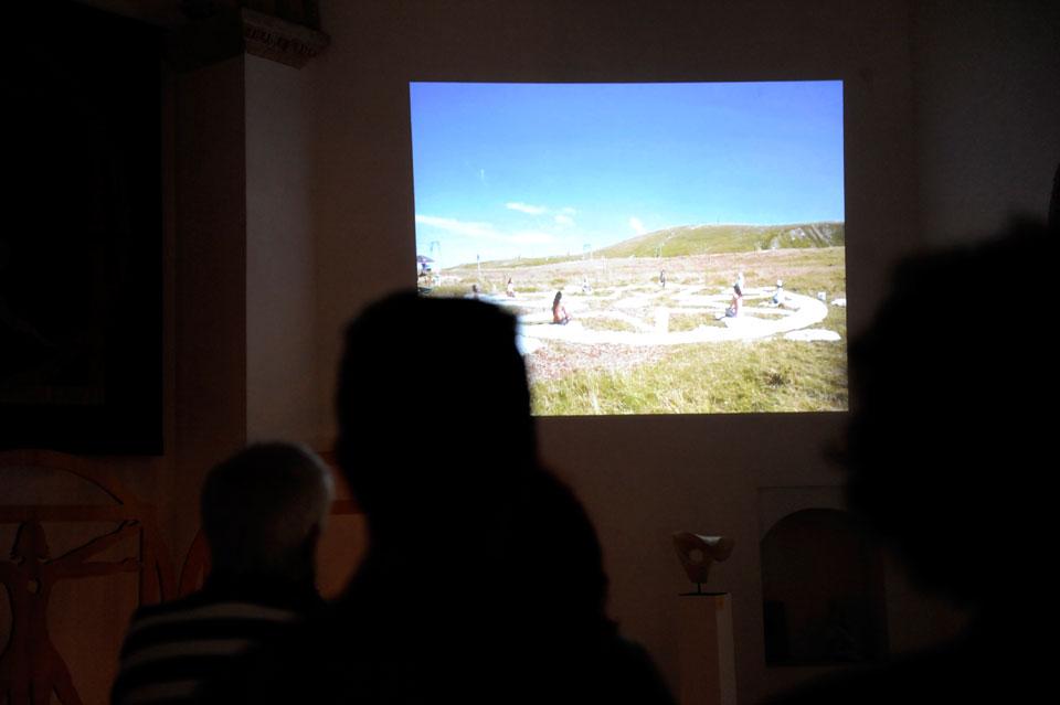 infinito presente mostra zuccarini3 Immagini e ricordi della mostra Infinito Presente (31 maggio   7 giugno 2015)   Chieti workshop di scultura walter zuccarini teatro simurgh stefania barbetta scultura ottagono mostra artigianato artistico artigianato