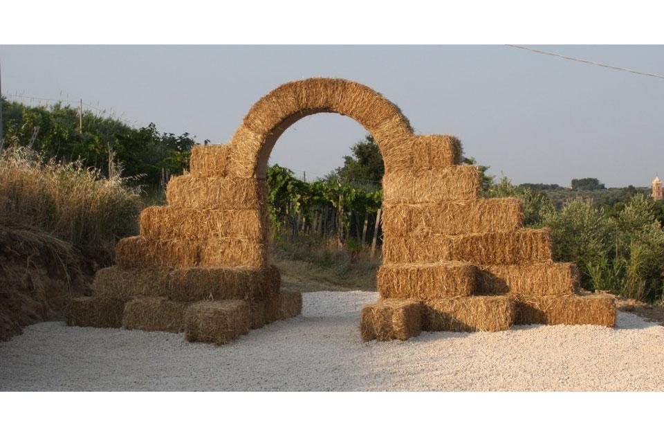 la porta di giano - land art walter zuccarini