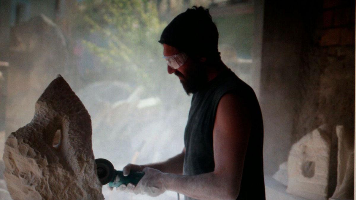 IMG 20170626 WA0008 1 SETTIMANA MAGICA   laboratorio di scultura manuale su pietra (10 17 giugno) settimana magica scultura walter zuccarini scultura su pietra corso scultura